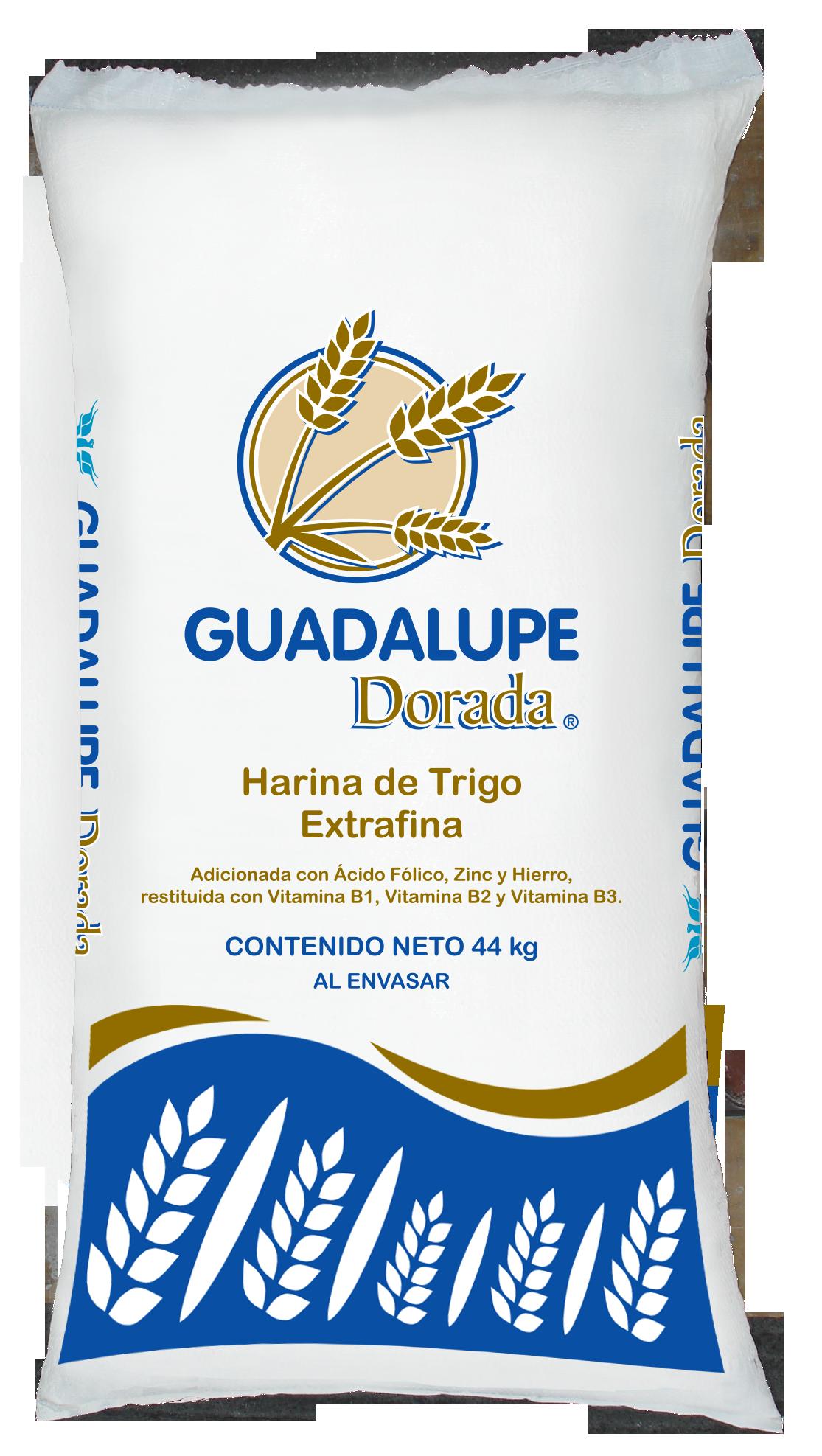 Presentaciones de Harina de Trigo Guadalupe Dorada