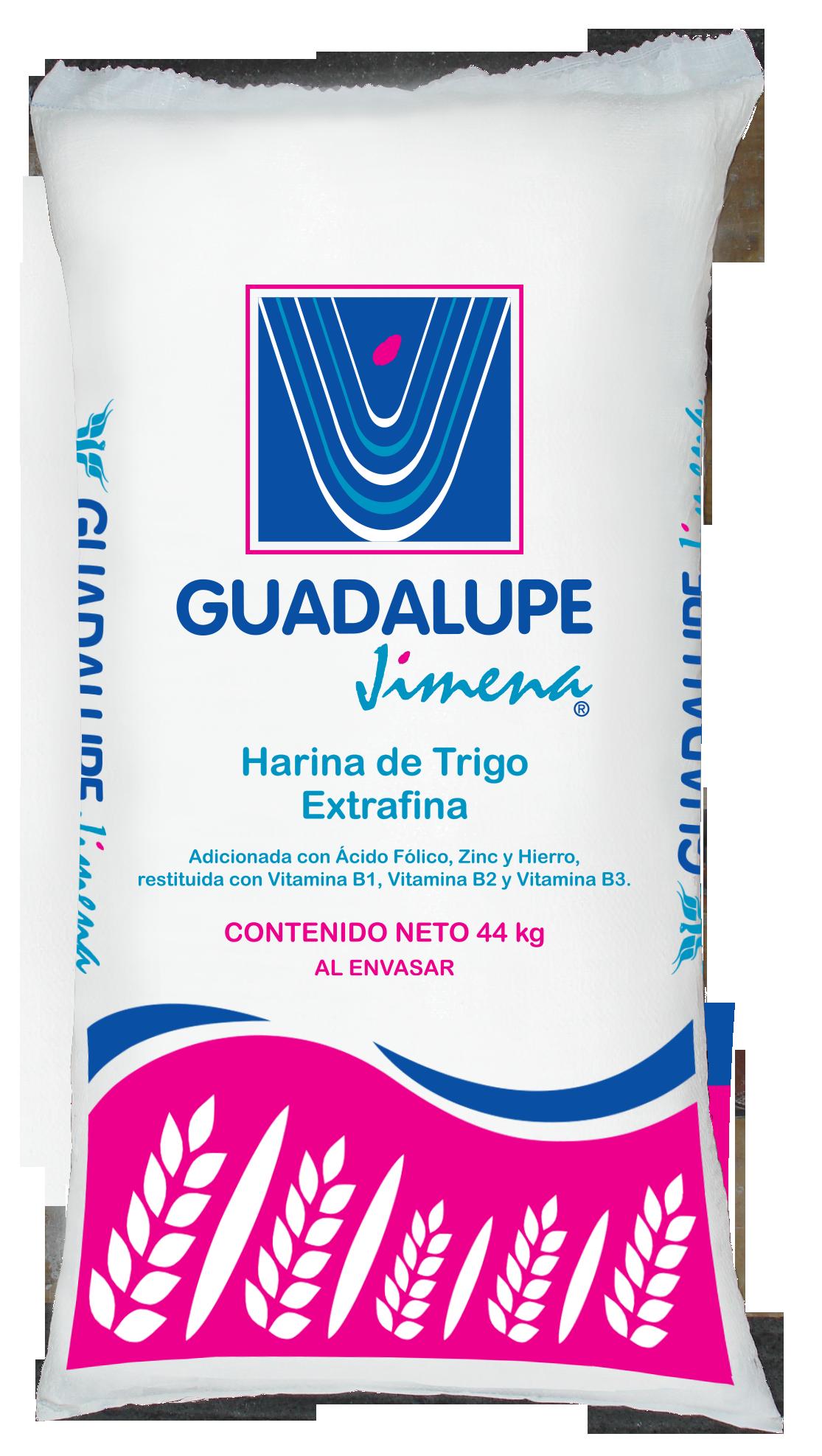 Presentaciones de Harina de Trigo Guadalupe Jimena