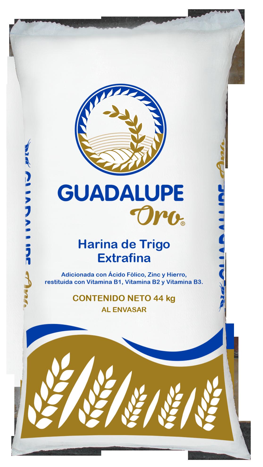 Presentaciones de Harina de Trigo Guadalupe Oro