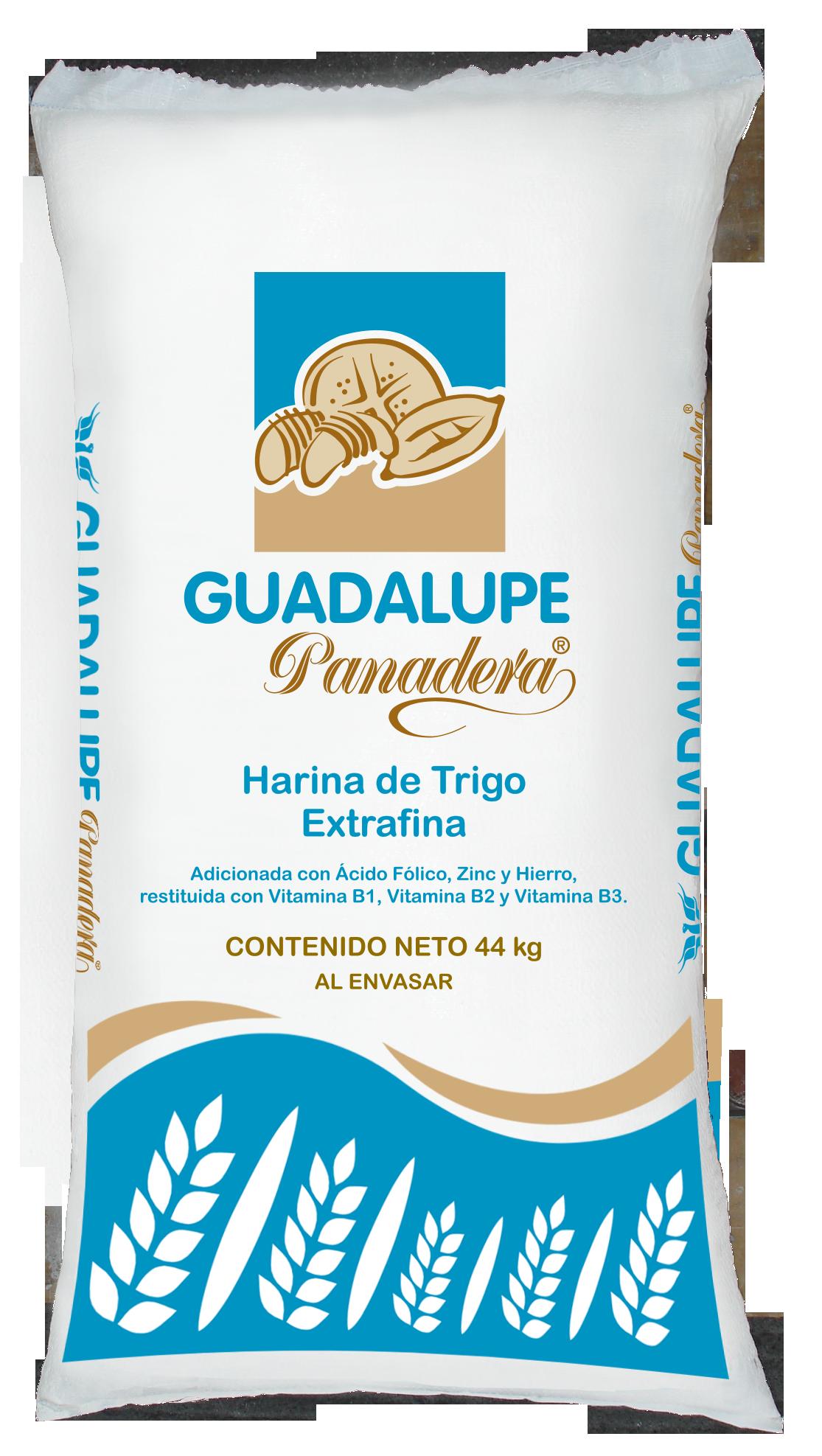 Presentaciones de Harina de Trigo Guadalupe Panadera