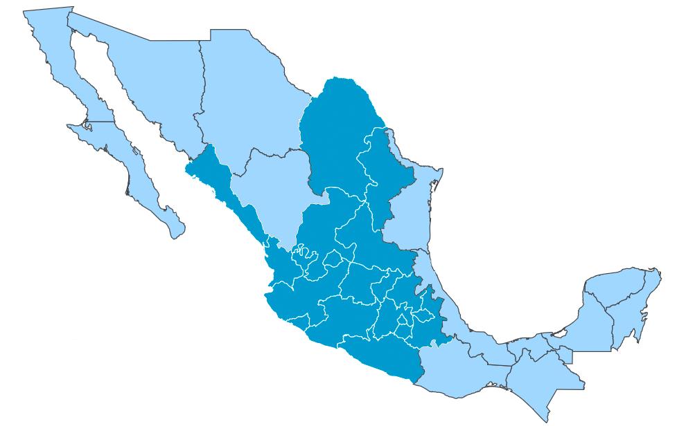 Mapa de Presencia y Actividades