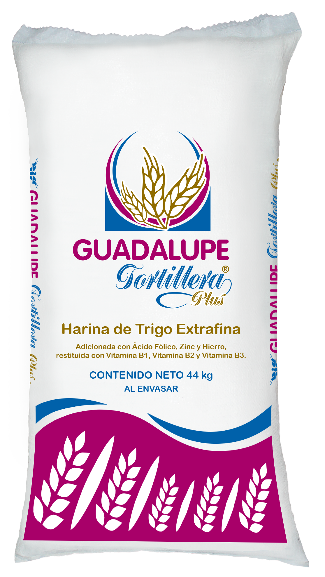 Harina de Trigo Guadalupe Tortillera Plus